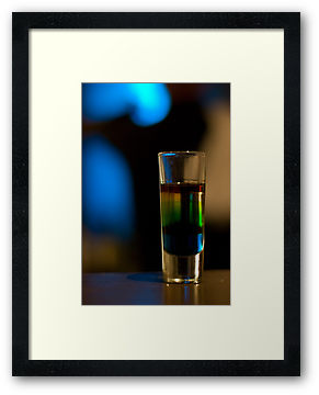 Liquid Courage framed