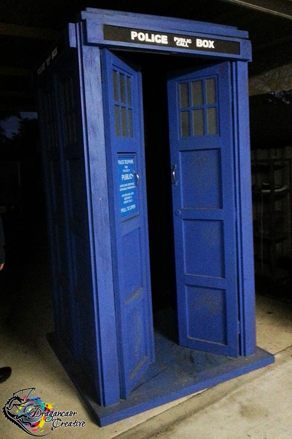 Dragancaor Creative TARDIS