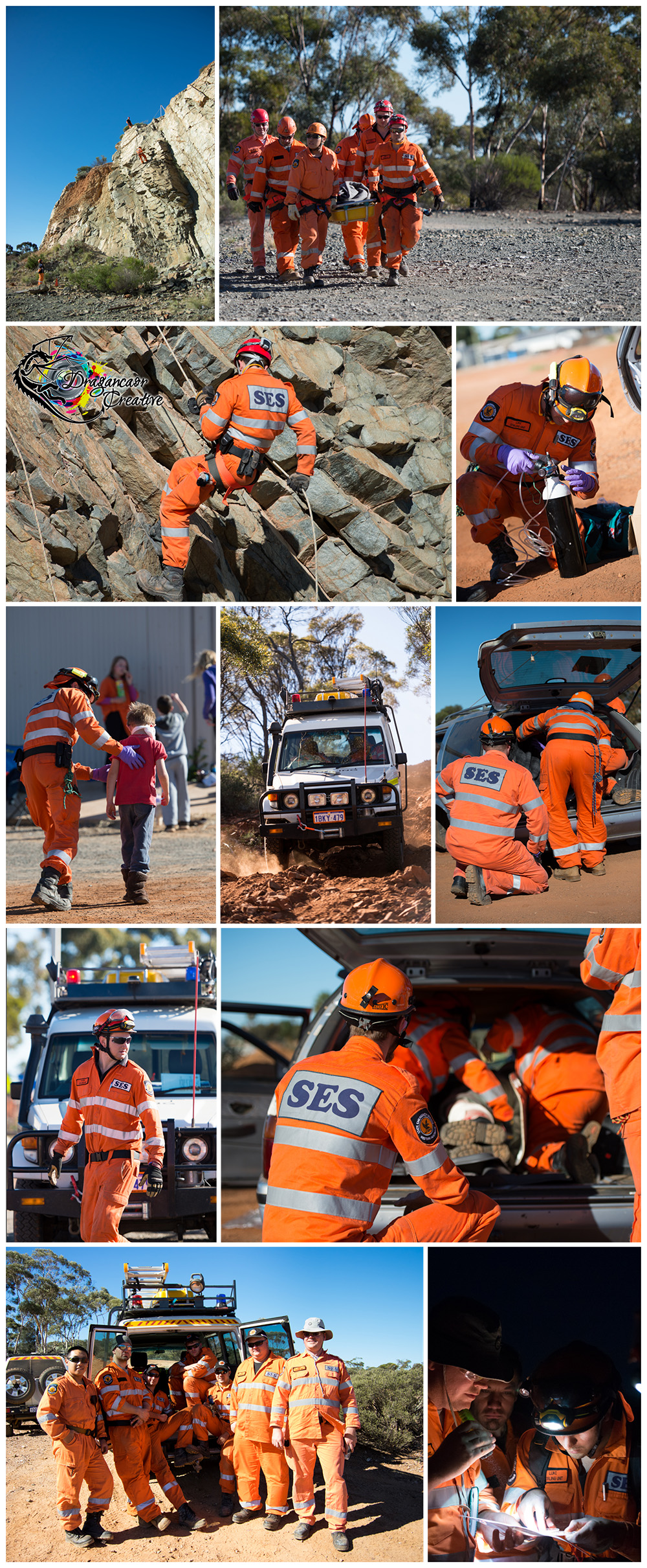 Goldfields SES challenge Day Two