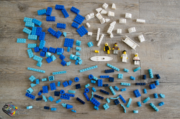 Lego bricks surf photo