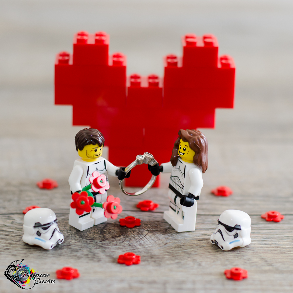 Lego star wars engagement